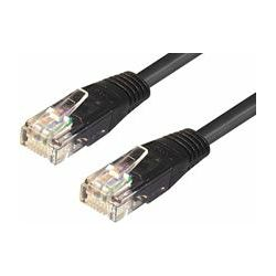 Transmedia UTP Cat6 Kabel 1M, black