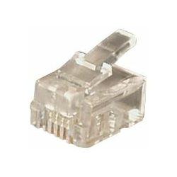 Transmedia RJ12 Plug Western 6 6 plug