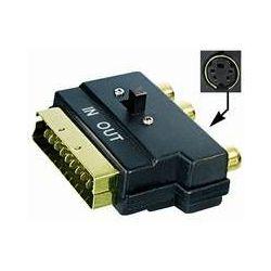 Transmedia V 49 SVG Scart-plug adapter 3x RCA-jack 4 pin