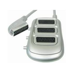 Transmedia V81-3SSI 3 x Scart Splitter sa switch-om
