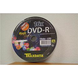 TRAXDATA OPTIČKI MEDIJ DVD-R 16X SPINDLE 10 Magic Silver