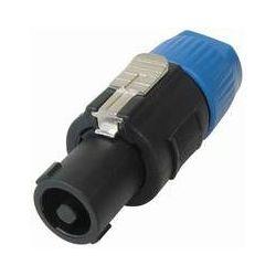 Transmedia PA Plug, lockable speaker plug