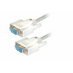 Transmedia Sub D-plug 9 pin to Sub D-plug 9 pin Cable, 1,8m