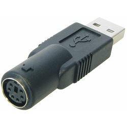 Transmedia USB A plug to 6-pin Hosiden jack