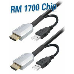 Transmedia HDMI 4K UHD kabel with active chipset 60m