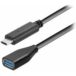 Transmedia USB type C plug to USB 3.1 type A jack, 0,2 m