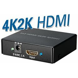 Transmedia 4K2K 2-way HDMI Splitter