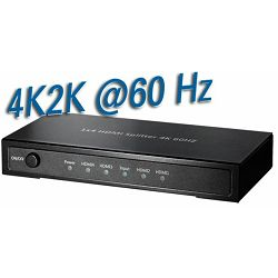 Transmedia 4K2K HDMI splitter 4-way