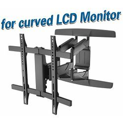 Transmedia Bracket for Curved- and Flat Panel TV