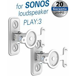Transmedia brackets for SONOS loudpseakers, White