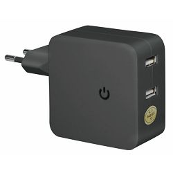 Transmedia Switching adapter 4800mA with 2x USB sockets