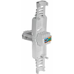 Transmedia Tool-less RJ 45 plug CAT 6A