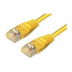 Transmedia UTP Cat.6 Kabel 3M, yellow