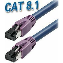Transmedia Cat 8.1 SFTP Kabel 2m, dark blue