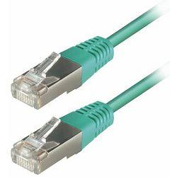 Transmedia S-FTP Cat5E Patch Kabel (RJ45), Green 1m