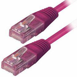 Transmedia Cat.5e UTP Kabel 0,5M, Ljubičasta boja