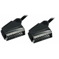 Transmedia Scart-plug to Scart-plug 1,25m