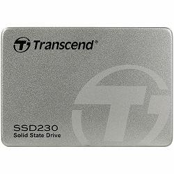 "SSD TRANSCEND 230S 256GB, 2.5"" 7mm, SATA 6Gb/s, Read/Write: 560 / 520 MB/s, Aluminum case"