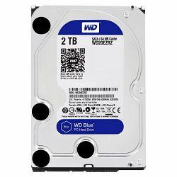Tvrdi disk HDD WD Blue (3.5, 2TB, 64MB, 5400 RPM, SATA 6 Gb/s)