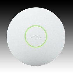 Ubiquiti Access Point UniFi UAP-LR, 2.4GHz, 300 Mbps, Range 183m, Power Passive PoE, 24V 0.5A PoE Adapter Included, 1x10/100 Ethernet Port, Integrated 3 dBi Omni Anntenna (2x2 MIMO), 100+ Concurrent c