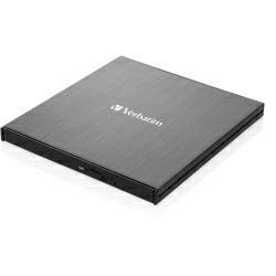 Verbatim Blu-Ray Slimline vanjski snimač, M-Disc kompatibilan, USB3.1, crni