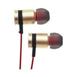 Slušalice Verbatim Sound Isolating Earphones, zlatne