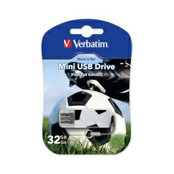 Verbatim USB2.0 StorenGo Mini 32GB Sport Editions Football