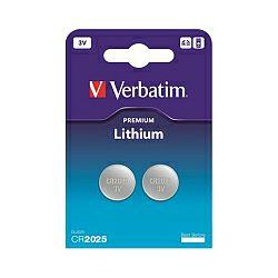 Verbatim CR2025 Lithium baterija, 3V (2 kom./pakiranje)