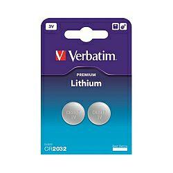 Verbatim CR2032 Lithium baterija, 3V (2 kom./pakiranje)