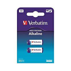 Verbatim 23AE (MN21/A23) Alkaline baterija, 12V (2 kom./pakiranje)