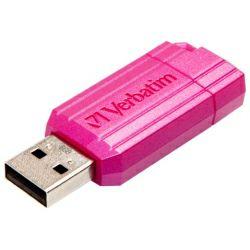 USB Verbatim USB2.0 PinStripe 64GB, pink