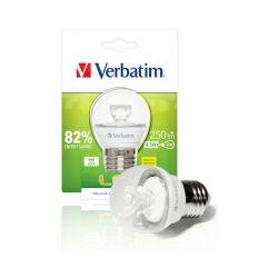 Verbatim LED žarulja Mini Globe E27 Klar, 4.5W, 2700K, WW, 250LM