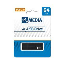MyMedia USB2.0 64GB, crni