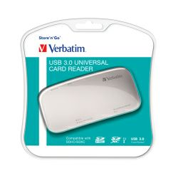 Verbatim univerzalni čitač memorijskih kartica, USB3.0