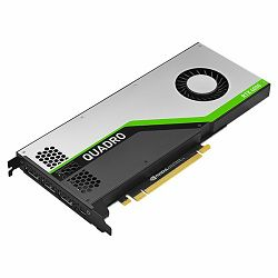 Grafička kartica PNY NVIDIA Quadro RTX4000 GDDR6 8GB, 2304 CUDA Cores, PCI-E 3.0 x16, 3xDP, Cooler, Dual Slot (USB-C to DP adapter, DisplayPort to DVI-D SL adapter, DisplayPort to HDMI adapter
