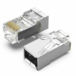 Vention Cat.6 FTP RJ45 Modular Plug 100 Pack