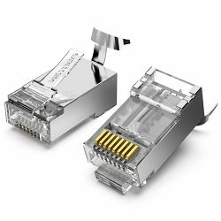 Vention Cat.7 FTP RJ45 Modular Plug 10 Pack
