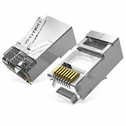 Vention Cat.6A FTP RJ45 Modular Plug 10 Pack