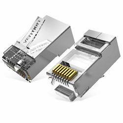 Vention Cat.6A FTP RJ45 Modular Plug 50 Pack
