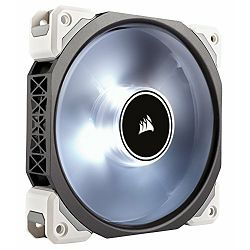 Ventilator Corsair ML120 Pro LED, White, 120mm Premium Magnetic Levitation Fan