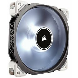 Ventilator Corsair ML140 Pro LED, White, 140mm Premium Magnetic Levitation Fan