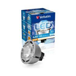 Verbatim LED žarulja MR16 (GU5.3) 6.5W, 275lm, 2700K, topla bijela, dimabilna