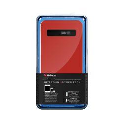 Verbatim punjač Power Pack, ultra tanki, prijenosni, crveni (4200mAh)