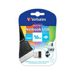 Verbatim USB2.0 NetBook StorenGo 16GB, crni