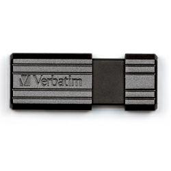 Verbatim USB2.0 PinStripe 64GB, crni
