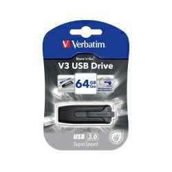 Verbatim USB3.0 V3 64GB, crni