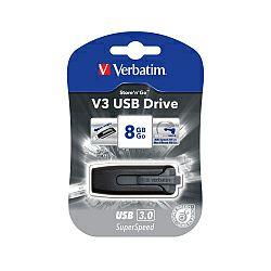 Verbatim USB3.0 V3 8GB, crni