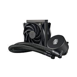 Vodeno hlađenje COOLERMASTER MasterLiquid 120, CPU hlađenje, s. 2011-v3/2011/1366/1151/1150/1156/1155/1156/775/FM2+/FM2/FM1/AM3+/AM3/AM2+/AM2/AM4
