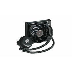 Vodeno hlađenje COOLERMASTER MasterLiquid Lite 120, CPU hlađenje, s. 2066/2011-v3/2011/1366/1151/1150/1156/1155/775/AM4/AM3+/AM3/AM2+/AM2/FM2+/FM2/FM1