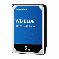 WD Blue 2TB SATA 6Gb/s HDD internal 3,5inch serial